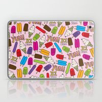 Ice Cream Doodles Laptop & iPad Skin