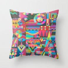 Schema 17 Throw Pillow