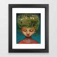 Quietly Wild Framed Art Print