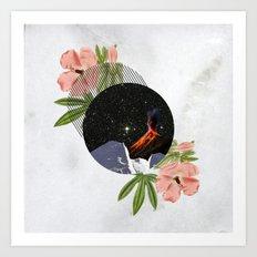 Hawaiian Space Marbles Art Print