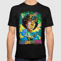 Syd Barrett Mens Fitted Tee Tri-Black SMALL
