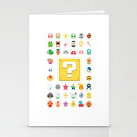 Power Ups! Stationery Cards