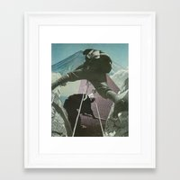 Mount Zen Framed Art Print
