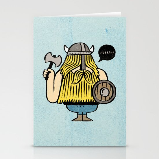 Pillage and Plunder Stationery Card