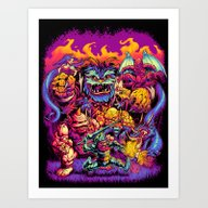 GHOSTS 'N' GOBLINS Art Print
