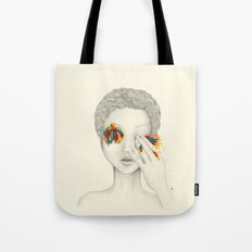 Give Me Your Eyes Tote Bag
