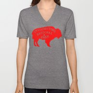 Unisex V-Neck featuring Yellowstone National Par… by Terry Fan