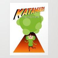 Katamari Jones Art Print