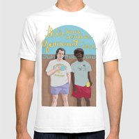Pulp Fiction Mens Fitted Tee White SMALL