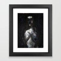 HOT VAMPIRE WITH IMPLANT… Framed Art Print