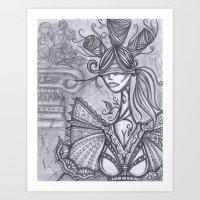 Blind Sensibility (Sketc… Art Print