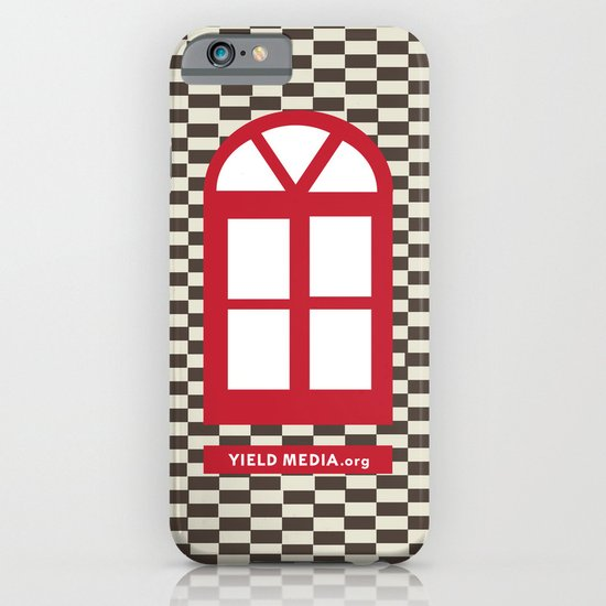 Red Window iPhone & iPod Case