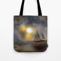 Sailing To Heaven Tote Bag
