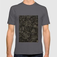 - étoile Noire [blackst… Mens Fitted Tee Asphalt SMALL