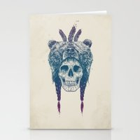 Dead shaman Stationery Cards