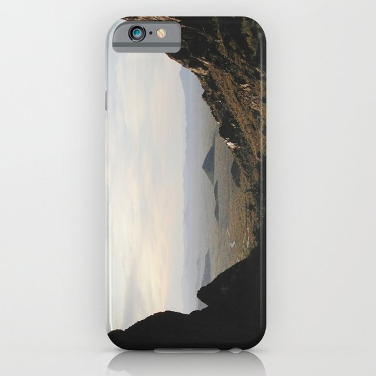 Palm Sunset Canyon iPhone & iPod Case
