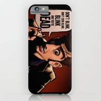 iPhone & iPod Case featuring Don't Blink by BinaryGod.com