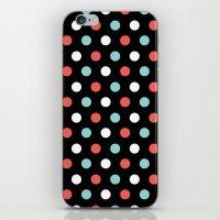 Happy Dots iPhone & iPod Skin