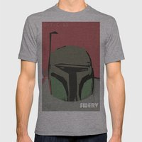 intergalactic swerve Mens Fitted Tee Athletic Grey SMALL