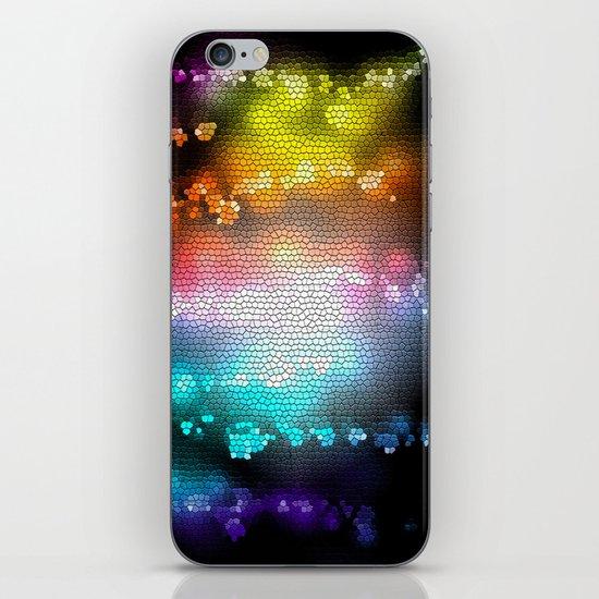 COLORS III iPhone & iPod Skin
