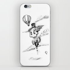 Flying Skull iPhone & iPod Skin