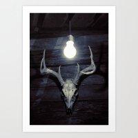 Late idea Art Print