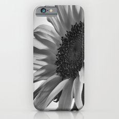 Sunflower Black & White iPhone 6 Slim Case