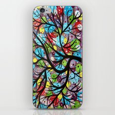 Abstract tree-8 iPhone & iPod Skin
