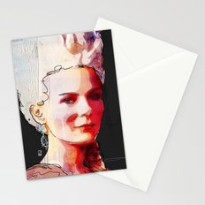 Kirsten Dunst as Marie Antoinette Stationery Cards