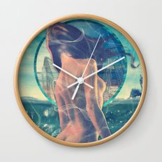 Drowned World Wall Clock