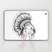 Indian Headdress Pink Version Laptop & iPad Skin