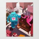 Dance, Lovebot! Dance! Canvas Print