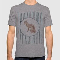 Foxy Mens Fitted Tee Athletic Grey SMALL
