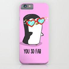 Fabulous Penguin iPhone 6s Slim Case