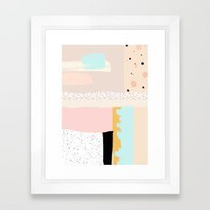On the wall#3 Framed Art Print