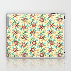 Folk Floral (yellow) Laptop & iPad Skin