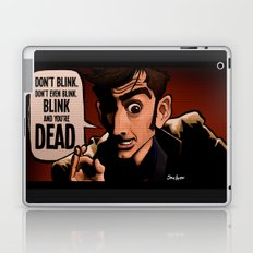 Don't Blink Laptop & iPad Skin