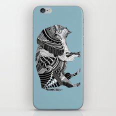 BLUE BISONTE-. iPhone & iPod Skin