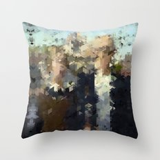 Panelscape Iconic - American Gothic Throw Pillow