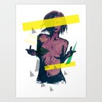 ELECTRO FU2 Art Print