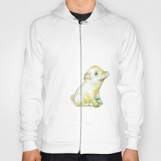 Pig Illustration Hoody