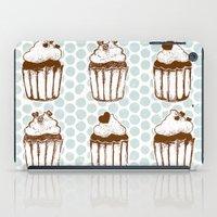 Retro Cupcakes iPad Case