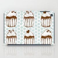 Retro Cupcakes iPad Case