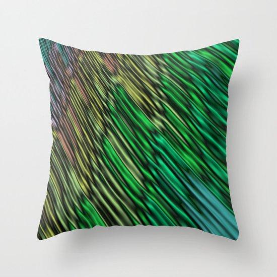 Green Vision Throw Pillow