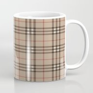 Burberry Plaid - Like De… Mug