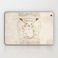 Vitruvian Mon Laptop & iPad Skin