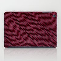 Stripes - Red iPad Case