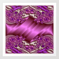 Sheet Metal Decor Art Print