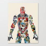 Modern Ironman  Canvas Print