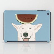 Watermelon doggy smile iPad Case